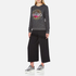 KENZO Women's Tenamie Flower Sweatshirt - Dark Grey: Image 4