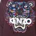 KENZO Women's Tiger Tanami Flower Print Sweatshirt - Prune Melange: Image 5