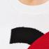 KENZO Women's K Logo Jumper - White: Image 5