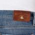 Vivienne Westwood Anglomania Men's Drainpipe Jeans - Blue Denim: Image 5