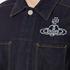 Vivienne Westwood Anglomania Men's Workers Jacket - Blue Denim: Image 5