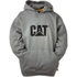 Caterpillar Men's Trademark Sweater Hoody - Grey: Image 1