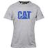 Caterpillar Men's Logo T-Shirt - Grey: Image 1