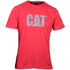 Caterpillar Men's Logo T-Shirt - Red: Image 1