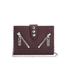 KENZO Women's Kalifornia Wallet on a Chain Crossbody Bag - Bordeaux: Image 1