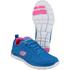 Skechers Women's Flex Appeal Sweet Spot Low Top Trainers - Blue: Image 3
