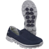 Skechers Men's GOwalk 3 Low Top Trainers - Blue: Image 2