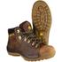 Amblers Safety Men's FS126 Hiker Boots - Brown: Image 3