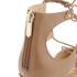Sam Edelman Women's Taylor Leather Lace Up Court Shoes - Golden Caramel: Image 5