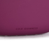 Lulu Guinness Women's Powder Coated Lips Clutch - Cassis: Image 3