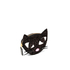 Lulu Guinness Women's Kooky Cat Glitter Coin Purse - Black: Image 2