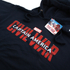 Marvel Mens Captain America Civil War Logo Hoody - Navy: Image 2