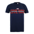 Marvel Men's Captain America Civil War Logo T-Shirt - Navy: Image 1