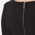 BOSS Orange Women's Dipleat Jersey Dress - Black: Image 5