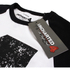Uncharted 4 Herren Distressed 4 langärmlige Raglan Top - Weiss/Schwarz: Image 3