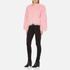 Charlotte Simone Women's Classic Fuzz Jacket - Pink - S/M: Image 4