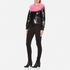 Charlotte Simone Women's Va-Va Varsity Jacket - Black/Pink - S/M: Image 4