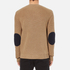 MSGM Men's Contrast Pocket Knitted Jumper - Brown: Image 3