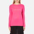 Bella Freud Women's Woman Cashmere Jumper - Pink: Image 1