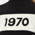 Bella Freud Women's 1970 Polo Merino Wool Jumper - Black: Image 5