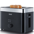 Graef TO62.UK 2 Slice Compact Toaster - Black: Image 1