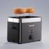 Graef TO62.UK 2 Slice Compact Toaster - Black: Image 2
