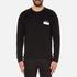 AMI Men's Oversized Crew Neck Sweatshirt - Black: Image 1