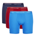 Tommy Hilfiger Men's 3 Pack Premium Essentials Boxer Briefs - Peacoat/Brilliant Blue/Samba: Image 1