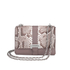 Aspinal of London Women's Lottie Python Bag - Chanterelle/Natural: Image 1