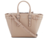 Aspinal of London Women's Marylebone Mini Tote - Soft Taupe: Image 1