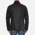 Barbour X Steve McQueen Men's Sandford Wax Jacket - Navy: Image 3
