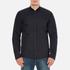 Barbour Heritage Men's Ruthwell Cotton Overshirt - Navy: Image 1