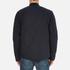 Barbour Heritage Men's Ruthwell Cotton Overshirt - Navy: Image 3