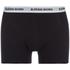 Bjorn Borg Men's Contrast Solids Triple Pack Boxer Shorts - Black: Image 7