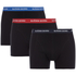 Bjorn Borg Men's Contrast Solids Triple Pack Boxer Shorts - Black: Image 1