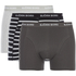 Bjorn Borg Men's 3 Pack Stripe Detail Boxer Shorts - Black: Image 1