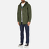 OBEY Clothing Men's Slugger Fishtail Parka Jacket - Dark Army: Image 4