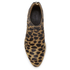 Alexander Wang Women's Kori Leopard Printed Haircalf Ankle Boots - Black/Natural: Image 3