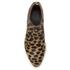 Alexander Wang Women's Kori Leopard Printed Haircalf Ankle Boots - Black/Natural: Image 3