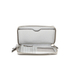 MICHAEL MICHAEL KORS Jet Set Travel Phone Purse - Silver: Image 4