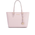 MICHAEL MICHAEL KORS Jet Set Travel Top Zip Tote Bag - Pink: Image 1