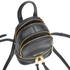 MICHAEL MICHAEL KORS Rhea Zip Small Crossbody Backpack - Black: Image 5