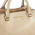 MICHAEL MICHAEL KORS Savannah Small Satchel - Gold: Image 4