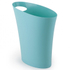 Umbra Skinny Waste Can - Surf Blue: Image 1
