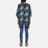 Superdry Women's Eivissa Kimono Top - Electric Storm: Image 3