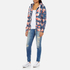 Superdry Women's Orange Label All Over Print Primary Zip Hoody - Baroque Roses Blue: Image 4