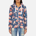 Superdry Women's Orange Label All Over Print Primary Zip Hoody - Baroque Roses Blue: Image 1