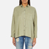 Superdry Women's Tencel Delta Shirt - Salt Wash Khaki: Image 1