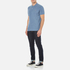 GANT Men's The Original Pique Polo Shirt - Dark Jeans Blue: Image 4