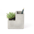 Concrete Desktop Planter and Pen Holder - Small: Image 3